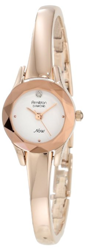 ARMITRON WOMENS DIAL GOLD DRESS WATCH 19,2MM