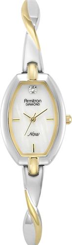 ARMITRON WOMENS DIAMOND WATCH, 20MM