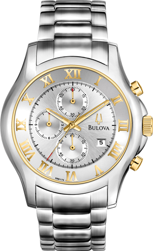 BULOVA MENS CHRONOGRAPH WATCH, 42MM