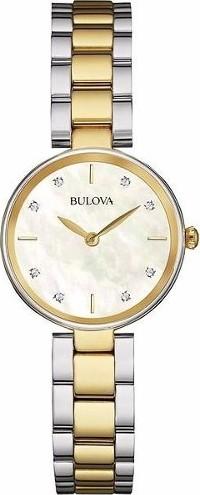 BULOVA CORPORATION DIAMOND WOMENS WATCH 27MM