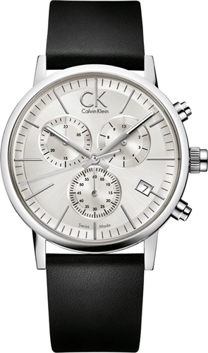 CALVIN KLEIN MENS POST MINIMAL CHRONOGRAPH WATCH 42MM