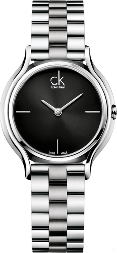CALVIN KLEIN SKIRT BLACK WOMENS WATCH 33MM