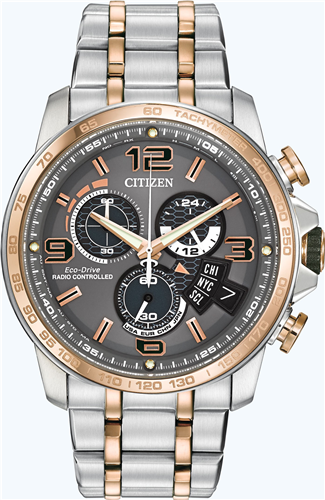 CITIZEN MENS CHRONO-TIME JAPANESE WATCH 44MM