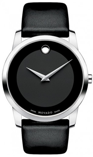 MOVADO MUSEUM MENS SWISS WATCH 40MM