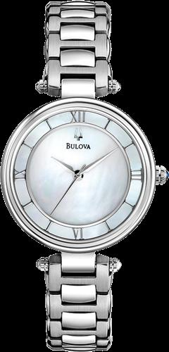 BULOVA WOMENS BRACELET WATCH, 29MM