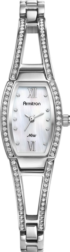 ARMITRON WOMENS NOW SILVER BRACELET WATCH