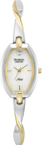 ARMITRON WOMENS DIAMOND WATCH, 20MM
