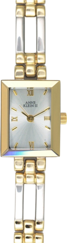 ANNE KLEIN WATCH, TWO TONE BRACELET 16MM