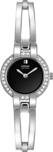 CITIZEN SILHOUETTE ECO-DRIVE BANGLE LADIES WATCH 21MM