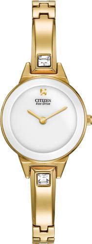 Đồng hồ nữ CITIZEN WOMENS SILHOUETTE SWAROVSKI ECO-DRIVE WATCH, 23MM