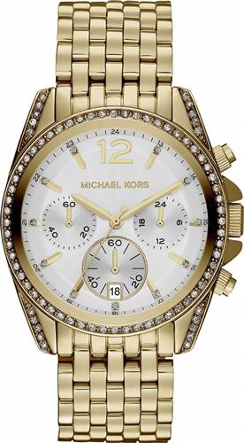 Michael Kors Pressley White Dial Unisex Watch 39mm
