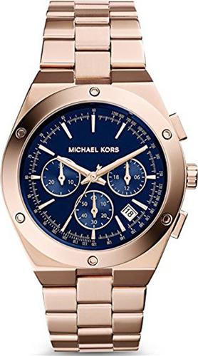 Michael Kors Reagan Rose Gold Mens Watch 42mm