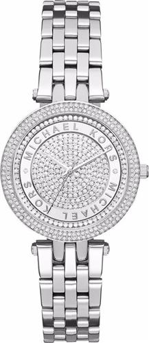 MICHAEL KORS Mini Darci Stainless Steel Ladies Watch 33mm