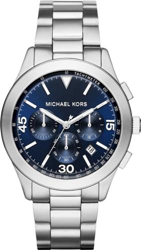 MICHAEL KORS Gareth Chronograph Blue Watch 43mm