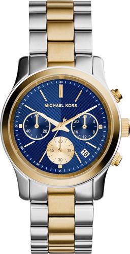 Michael Kors Runway Blue Unisex Watch 38mm