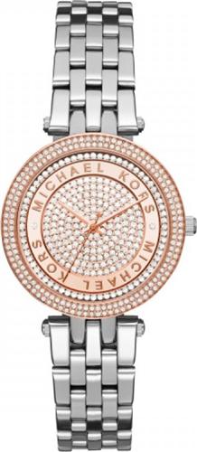 MICHAEL KORS Mini Darci Crystal Pave Watch 33mm