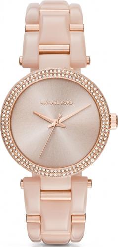 MICHAEL KORS Delray Rose Gold Ladies Watch 36mm