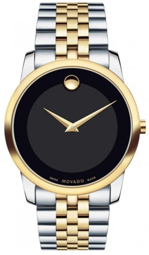 MOVADO MUSEUM CLASSIC MENS SWISS WATCH 40MM