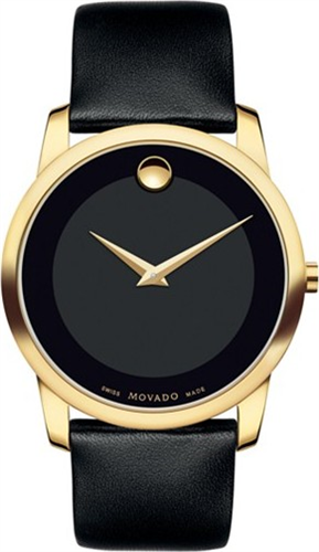 MOVADO MUSEUM CLASSIC UNISEX SWISS WATCH 40MM