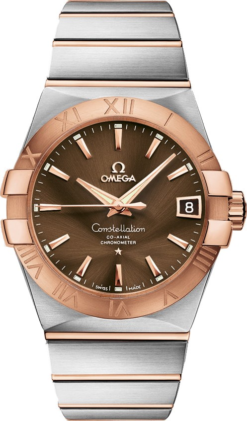 OMEGA CONSTELLATION CO-AXIAL AUTOMATIC MENS WATCH 38MM