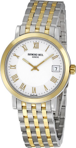 Đồng hồ nam RAYMOND WEIL TOCCATA TWO-TONE STEEL MENS WATCH 34,5MM