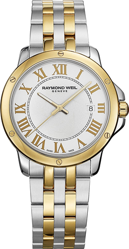 Đồng hồ nam RAYMOND WEIL WATCH, MENS SWISS TANGO TWO-TONE, 39MM