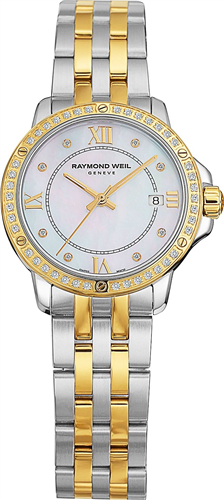 Đồng hồ nữ RAYMOND WEIL WATCH, WOMENS SWISS DIAMOND TWO-TONE 28MM